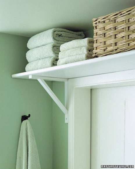 Above-the-Door Storage
