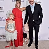 Eric Dane and Daughters at the Chrysalis Butterfly Ball 2016