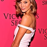 Karlie Kloss walked the red carpet before she took over the catwalk.