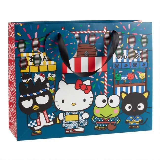 Large Hello Kitty Omatsuri Gift Bag