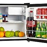 Midea Compact Black Refrigerator