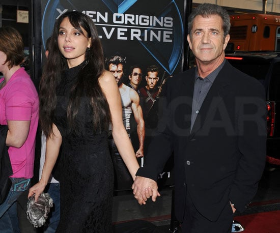 Photo of Mel Gibson and Oksana Grigorieva at the Wolverine Premiere in LA