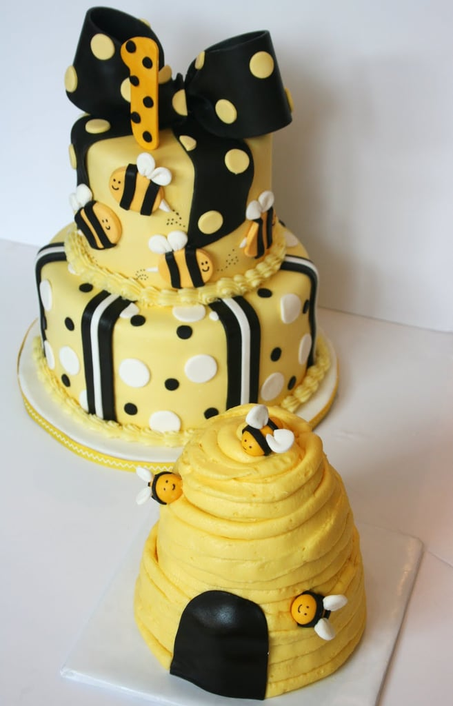 Bumble Bee First Birthday Cake Unique Birthday Cakes For Baby and