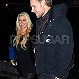 Jessica Simpson and Eric Johnson went out to dinner in NYC.
