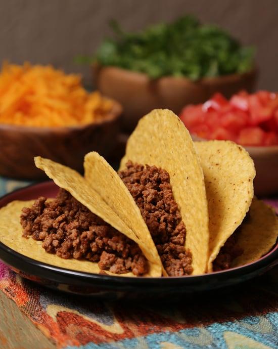 Ground beef tacos recipe popsugar food forumfinder Image collections