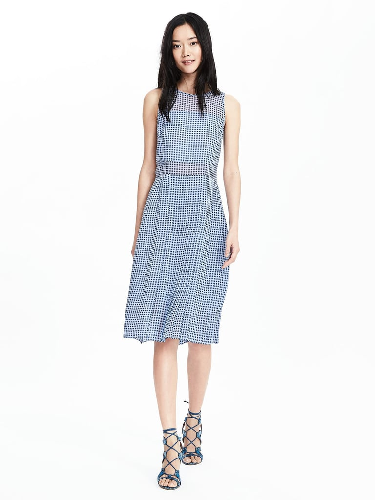 Banana Republic Timo Weiland Collection Gingham Dress ($278)