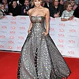 Catherine Tyldesley at the National Television Awards in January 2018
