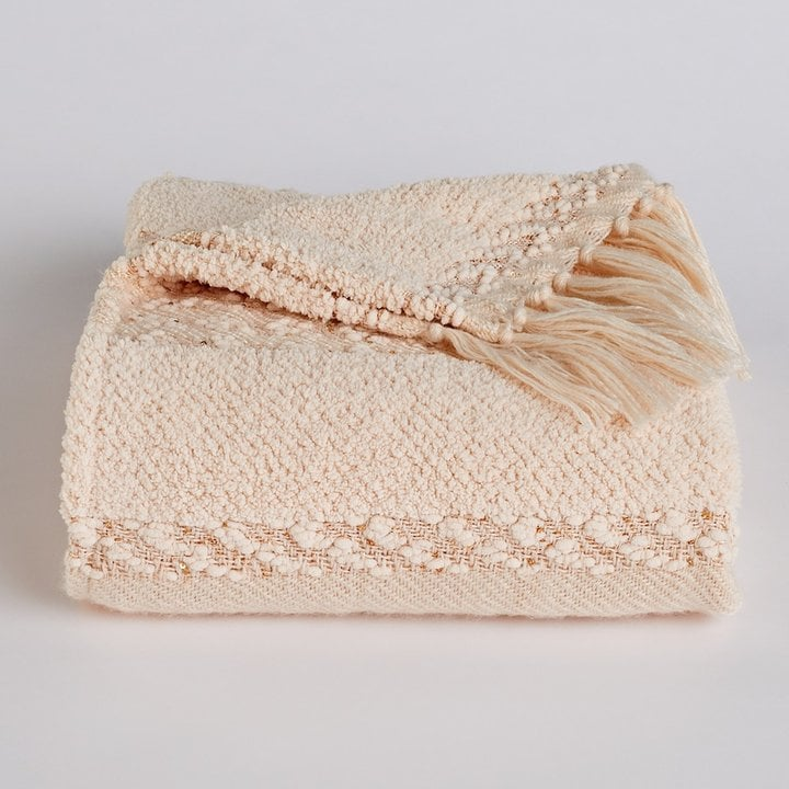 Lauren Conrad Chenille Fringe Throw