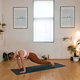 Reverse Plank to Downward Dog Circles x 4 Reps