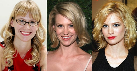 Which Hairstyle Do You Like Best on January Jones?
