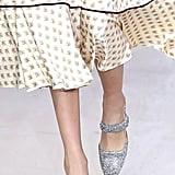 Alexa Chung Shoes on the Runway at London Fashion Week
