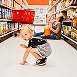 Rainbow Baby Pregnancy Photo Shoot at Target