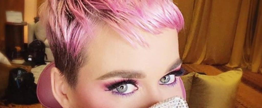Katy Perry Cherry Blossom Hair
