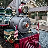 Asking nicely might land you a special seat on the Disneyland Railroad.