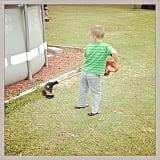 """Let the kids help. Teach them to help clean, to help cook, etc."" — Haylie P. Source: Instagram user amandahollis7"