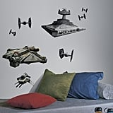 Star Wars Rebel Ships Decals