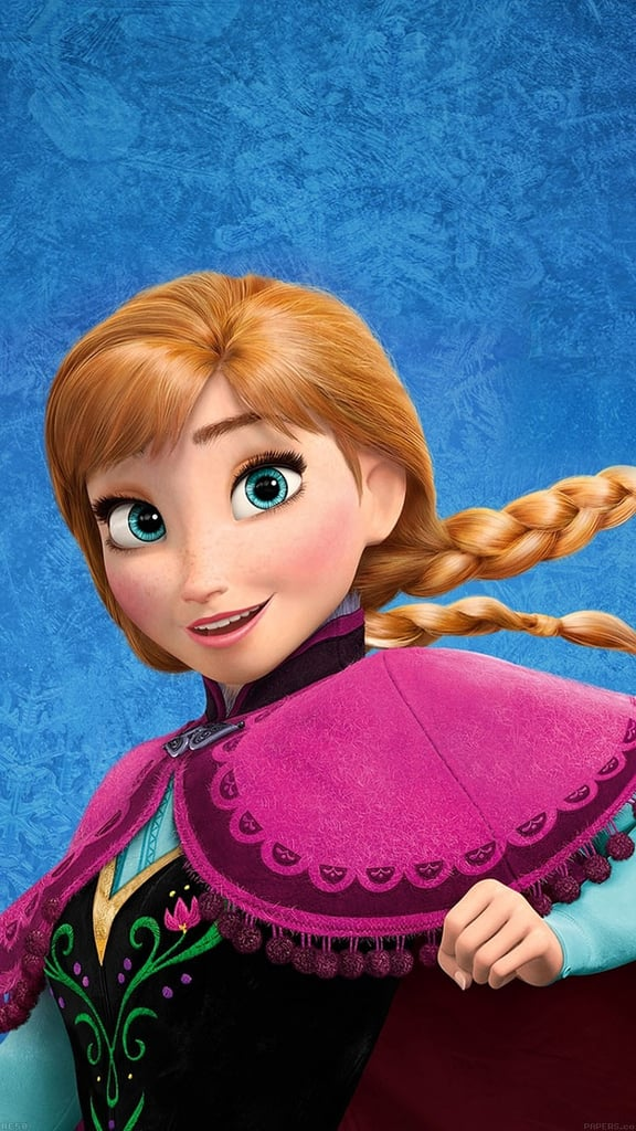 Close-Up of Anna From Frozen Wallpaper