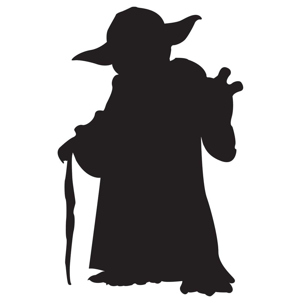 Yoda Pumpkin Template