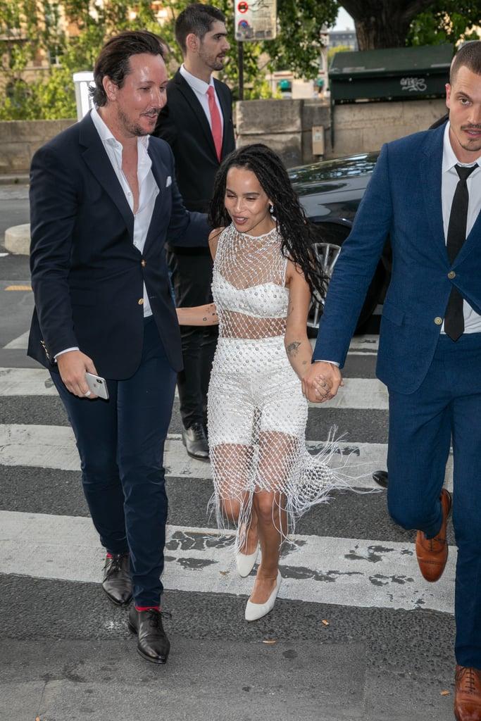 Zoë Kravitz and Karl Glusman Wedding Pictures