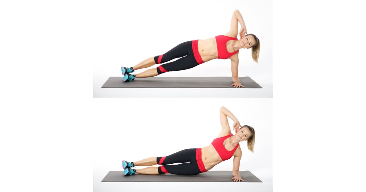 Side Plank With Hip Dip (Left Side) | 5-Minute Ab ...