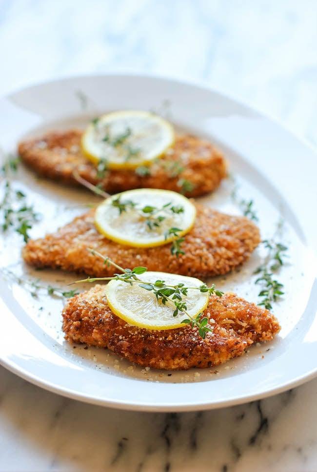 Breaded Lemon Chicken Easy Chicken Recipes Popsugar Food Photo 14