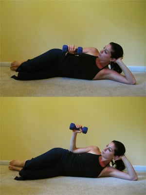Side Lying Strengthening Exericse for Rotator Cuff