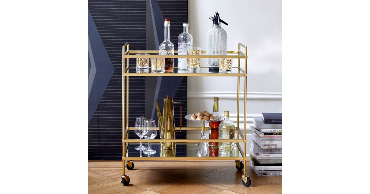 West Elm Terrace Bar Cart 11 Affordable Alternatives To West Elm Favorites Popsugar Home Photo 18