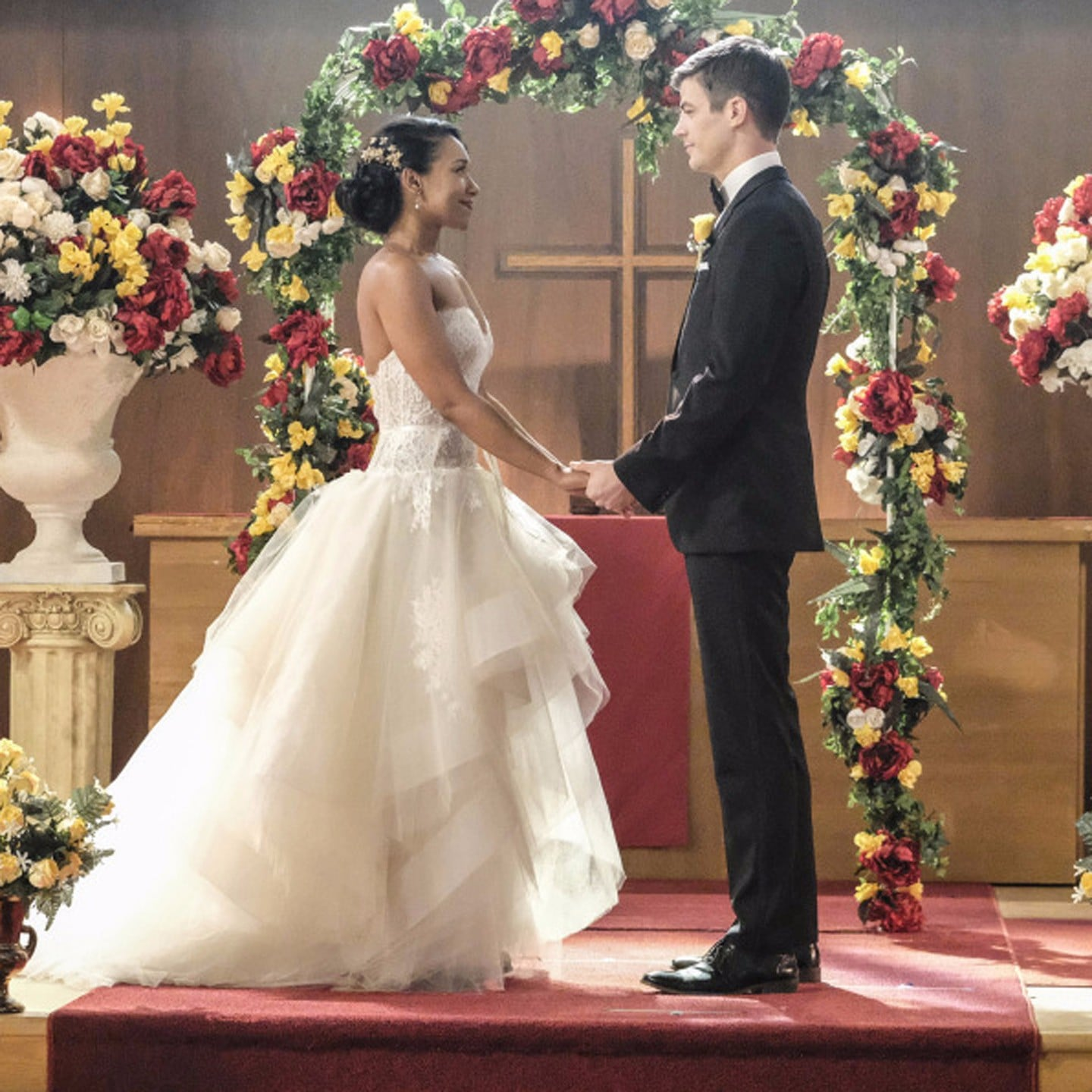 Barry and Iris's Wedding on The Flash | POPSUGAR Entertainment Photo 7