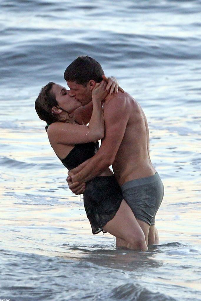 Mae Whitman and Matt Lauria filmed a racy scene for Parenthood on an LA beach in October 2012.