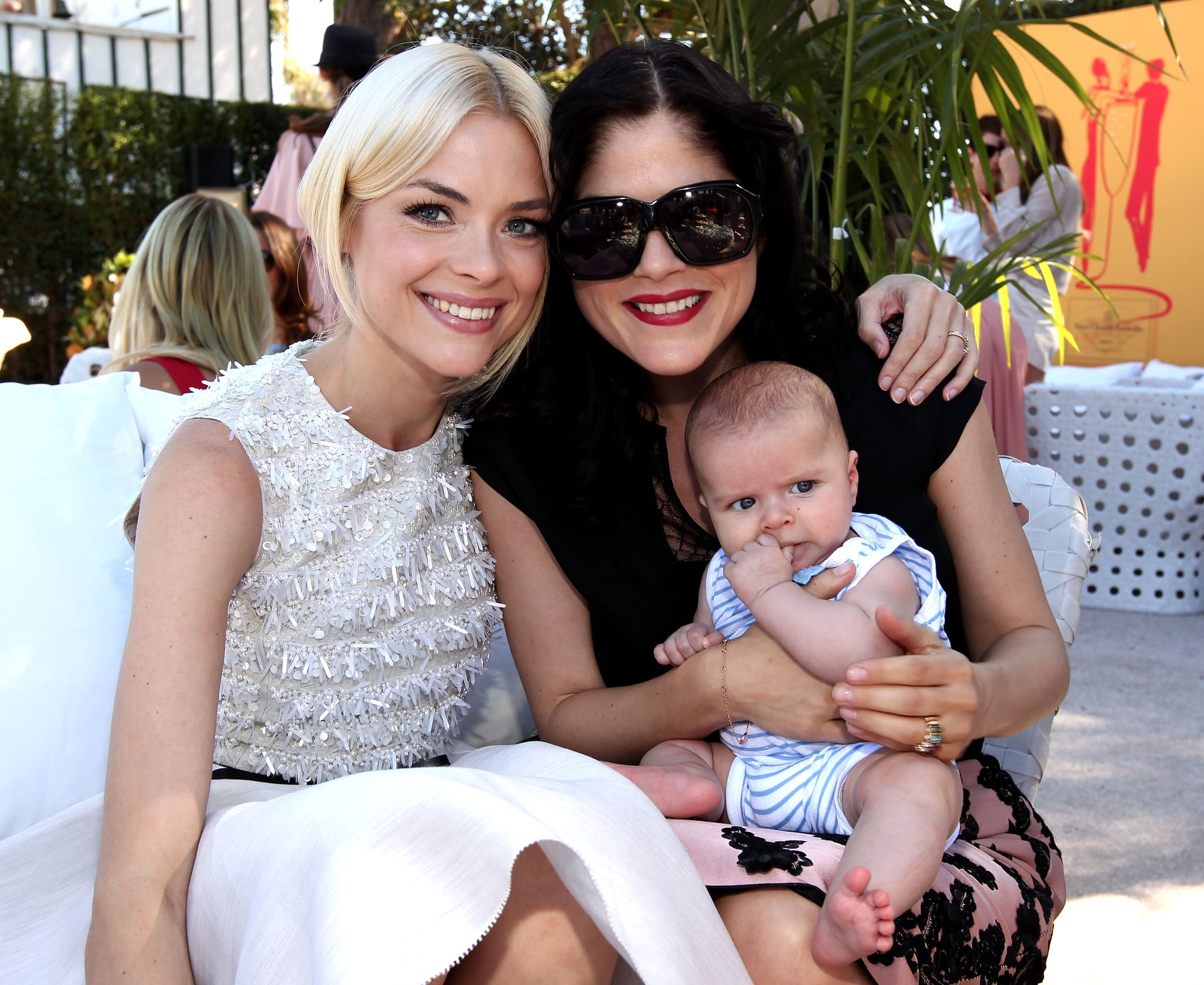Jaime King, Selma Blair and Arthur Bleick