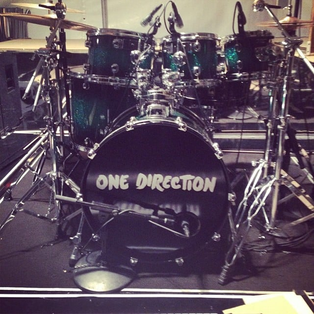 You'll never guess who we got to interview. We'll give you a hint . . . or, should we say, One Direction.