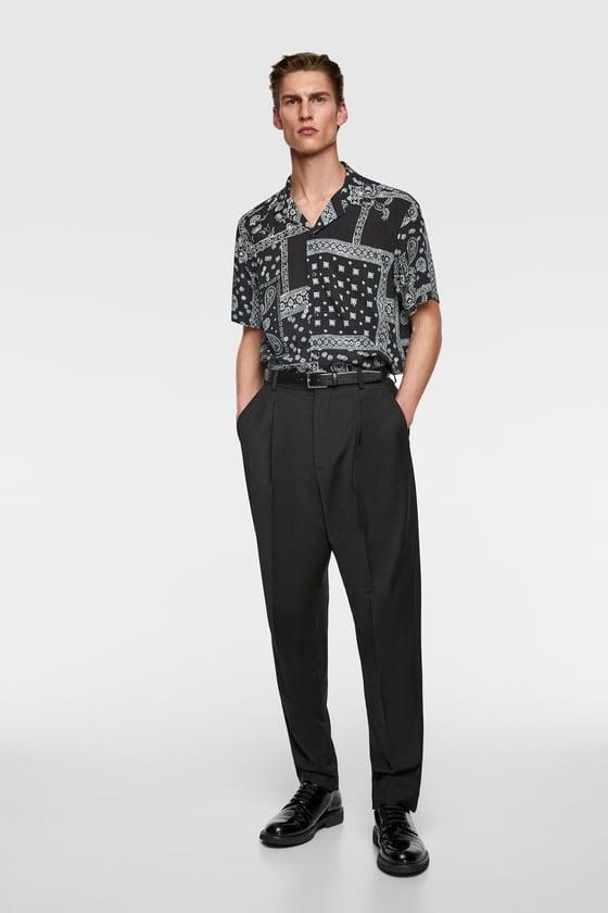 Zara Bandana Print Shirt