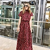 Gibson x City Safari Jaime Shrayber Smocked Maxi Dress