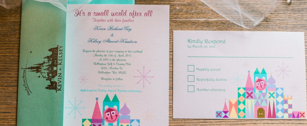 You've Got to See the Disney Details of This Enchanted Forest-Themed Wedding