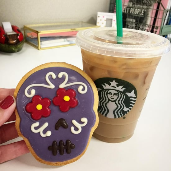 Starbucks Sugar Skull Cookie