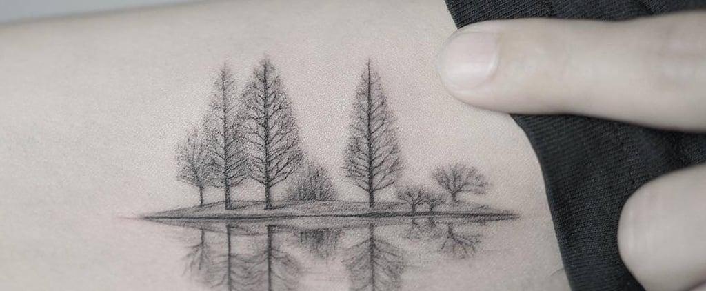 25 Pretty Little Winter-Themed Tattoos