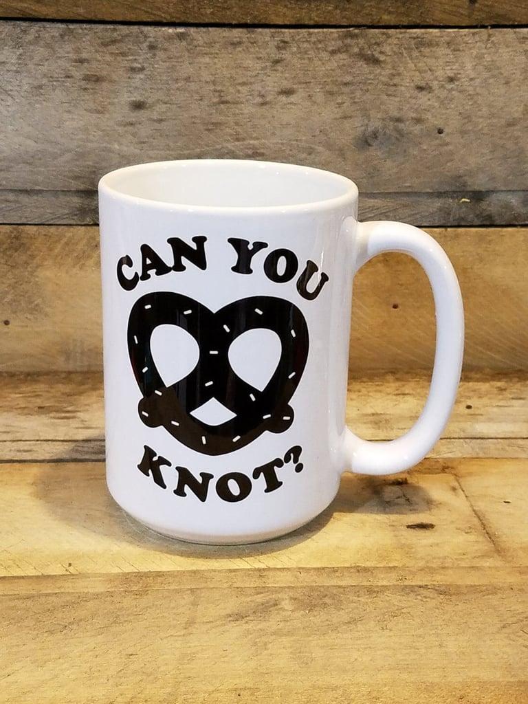 Pretzel Mug ($13)
