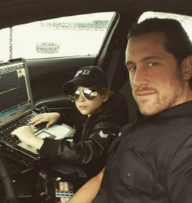 Jacob Tremblay Instagram With Father March 2016
