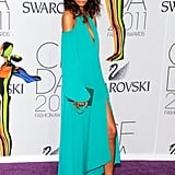 Chanel Iman in BCBG Max Azria
