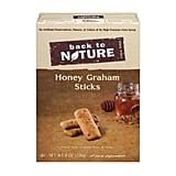If you're making s'mores dip this Summer, an essential is a dippable graham cracker. These Back to Nature Honey Graham Sticks ($5) are the very best.