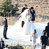 Kate Bosworth and Michael Polish got married on a ranch.