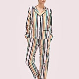Kate Spade New York Multistripe Long PJ Set