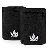 The Friendly Swede Zipper Sweatband Wristband Pocket