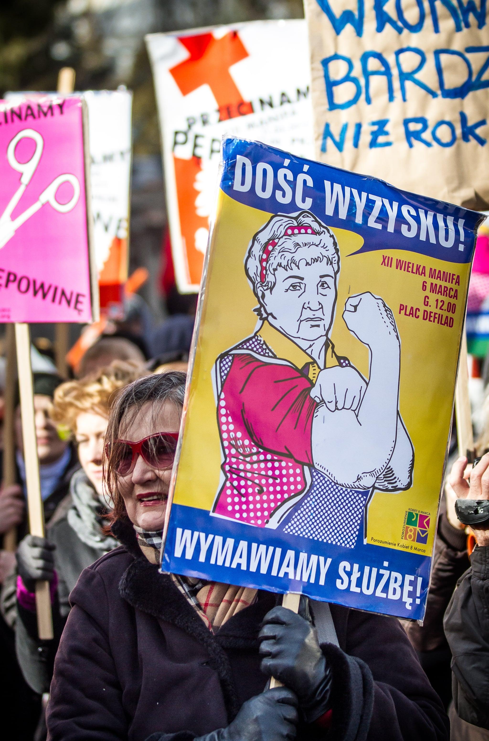 International Women's Day in Poland, 2012