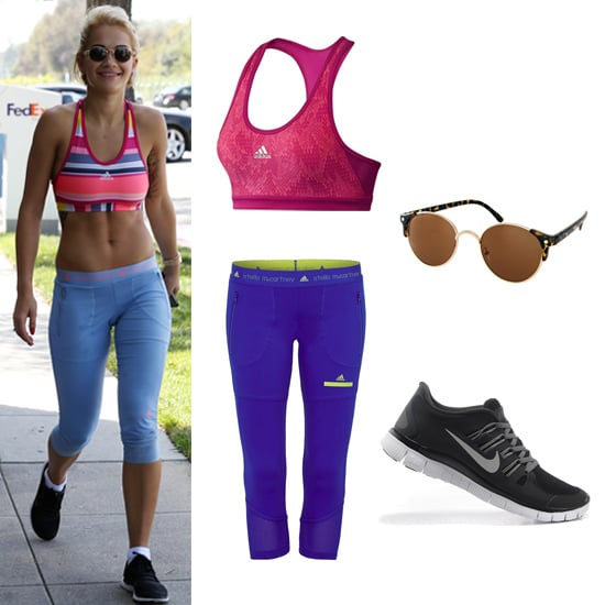 Rita Ora Workout Style and Celebrity Workout Inspiration