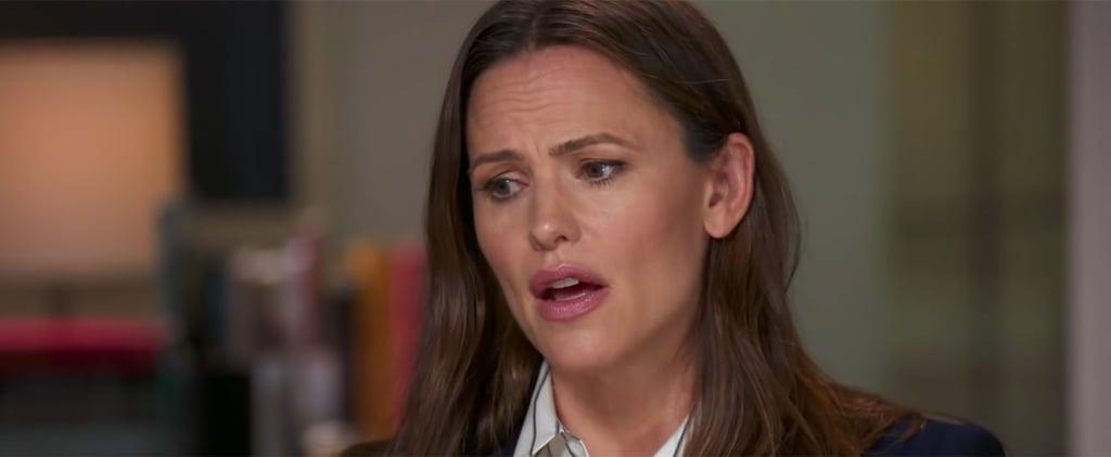Jennifer Garner Interview About Ben Affleck Split on CBS