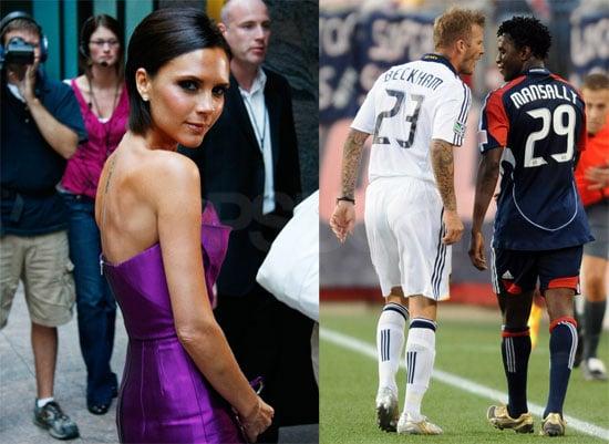 Photos of David and Victoria Beckham