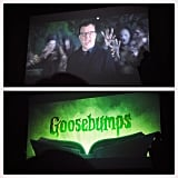 Jack Black is R.L. Stine in the Goosebumps movie. We got a first look at the sizzle reel.