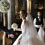For the Wedding, Victoria Wore a Stunning Michael Cinco Wedding Dress That Featured 500,000 Swarovski Crystals