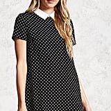 Forever 21  Polka-Dot-Print Shift Dress
